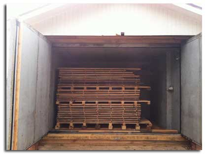 Nyle Systems Lumber Drying Kiln